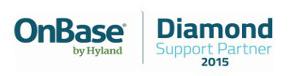OnBase By Hyland Diamond Partner Logo
